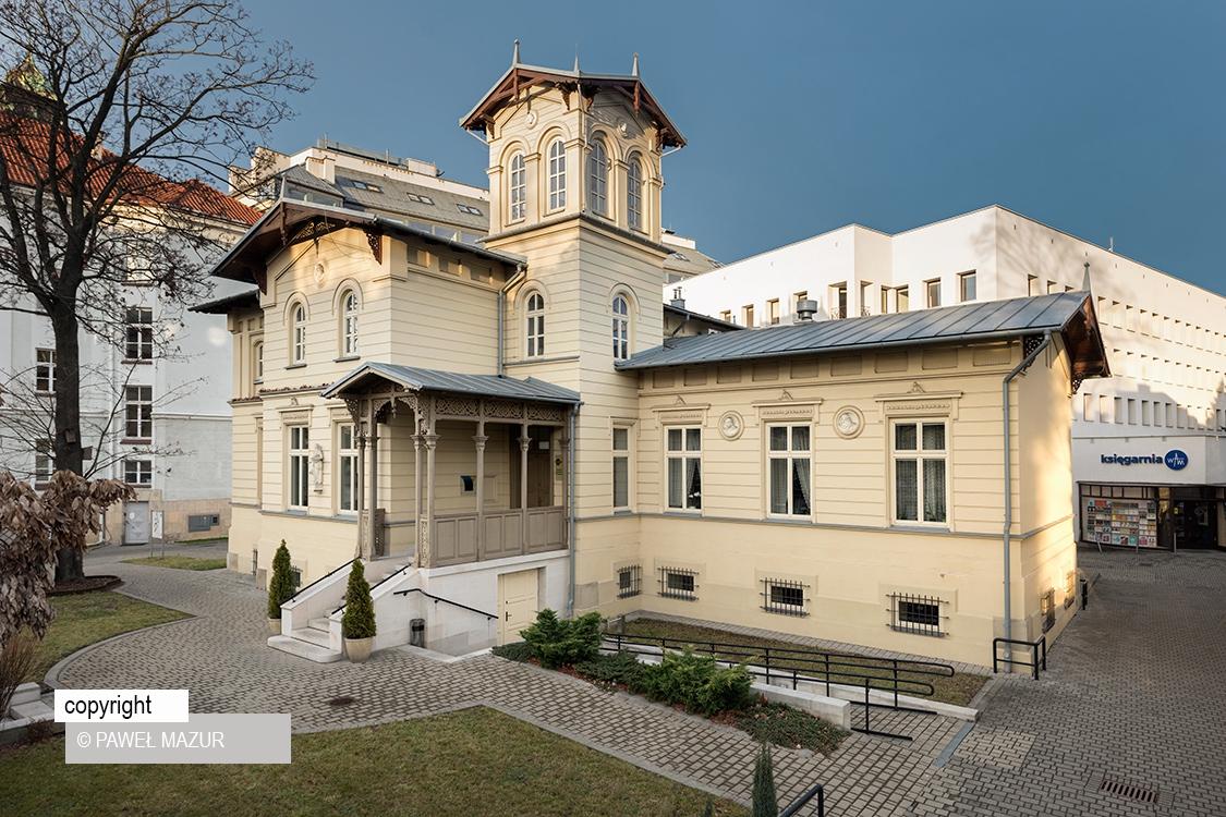 Pałacyk Zofiówka na ul. Kopernika w Krakowie